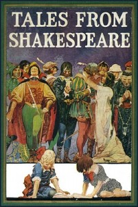 "One of many editions of Charles & Mary Lamb's ""Tales From Shakespeare"""