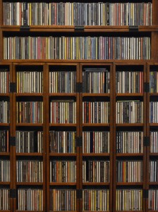 Some of my music archive, alphabetized by artist
