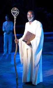Norm Lewis as Prospero Photo by Joan Marcus