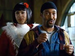 Wilson Jermaine Heredia & Jesse L. Martin in the film of Rent