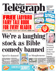 Belfast Telegraph Jan 24
