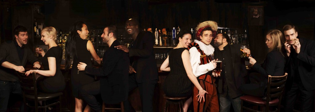 The complete, rotating cast of Drunk Shakespeare