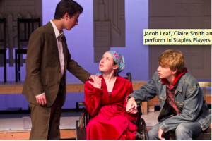 Jacob Leaf, Claire Smith & Jack Baylis in Infinite Black Suitcase