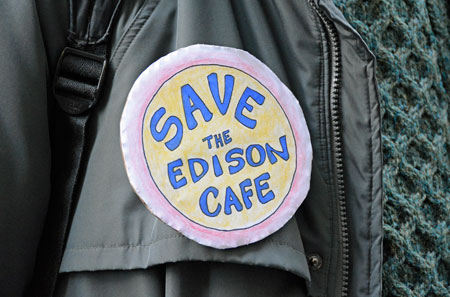 Edison Save The Cafe