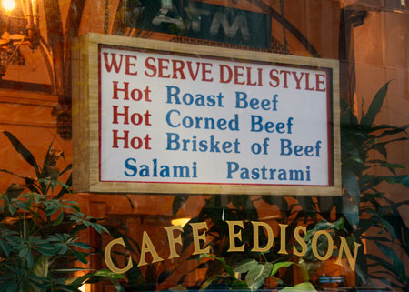 Edison We Serve Deli Style