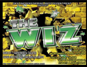 The Wiz at Skyline High School
