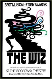 The Wiz Broadway poster