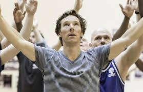 Benedict Cumberbatch in rehearsals for Hamlet