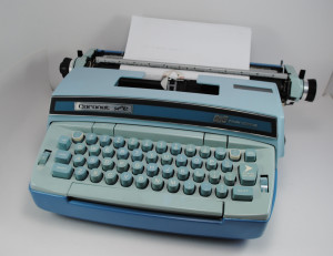 The doppelgänger of the Smith Corona typewriter I used for over a decade