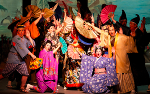 The NYGASP production of The Mikado (photo by William Reynolds)