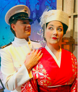 Mathew Edwardsen and Carla Thelen Hanson in Fargo Moorhead Opera's Madama Butterfly (photo by Carrie Snyder)