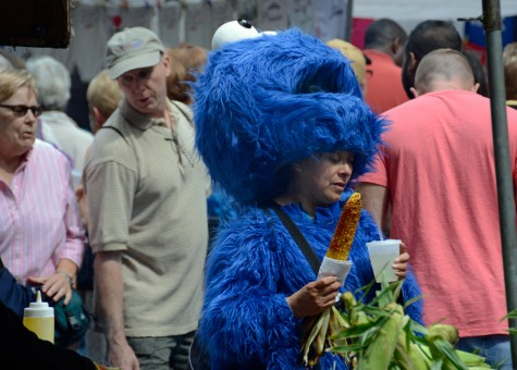"""Cookie Monster Likes My Corn"""