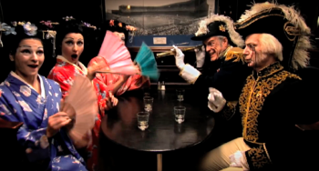 Still from NYGASP video spot on YouTube