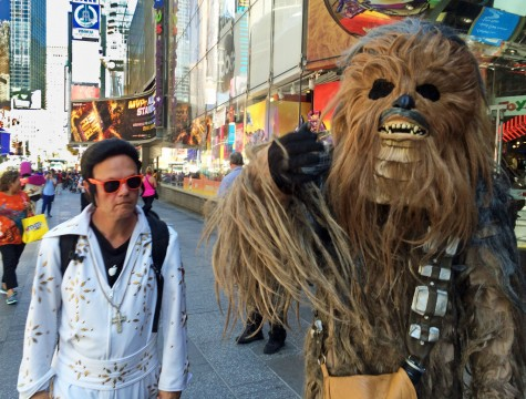 """Chewbacca and The King"""