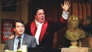 Matthew Broderick and Nathan Lane in The Producers (Photo by Joan Marcus)