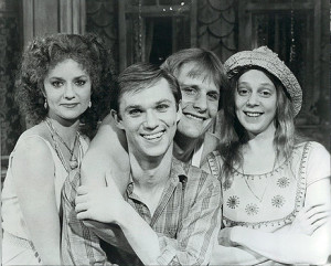 Swoosie Kurtz, Richard Thomas, Jeff Daniels and Amy Wright in Fifth of July