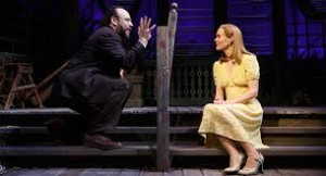 Danny Burstein and Sarah Paulson in Talley's Folly