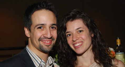 "Lin-Manuel Miranda and Quiara Alegría Hudes, authors of ""In The Heights"""