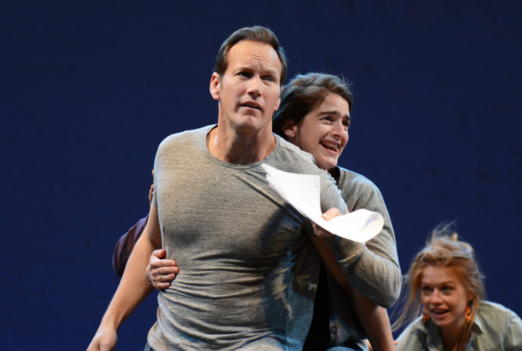 Patrick Wilson, Gaby Hoffman and Genevieve Angelson